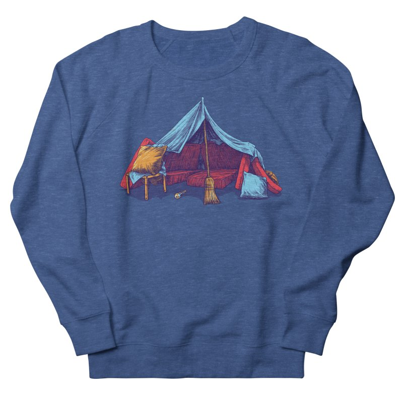 Blanket Fort Men's Sweatshirt by Barry Blankenship Shirts