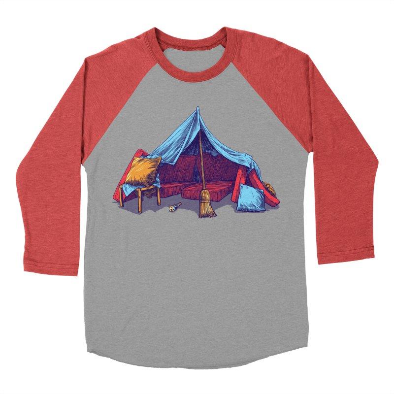 Blanket Fort Men's Longsleeve T-Shirt by Barry Blankenship Shirts