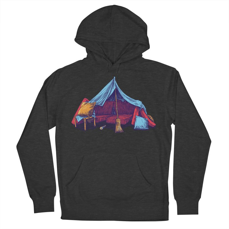 Blanket Fort Men's French Terry Pullover Hoody by Barry Blankenship Shirts