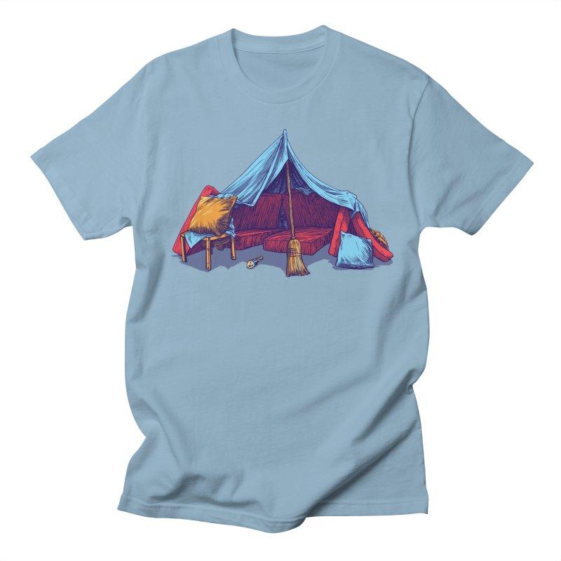 Blanket Fort Men's T-Shirt by Barry Blankenship Shirts