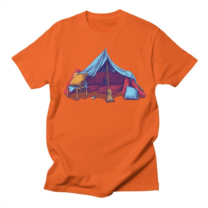 Blanket Fort Men's T-Shirt by Barry Blankenship Shirts