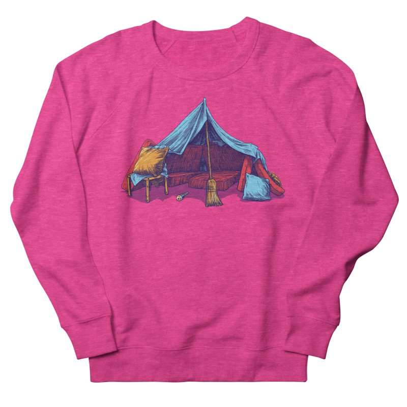 Blanket Fort Women's Sweatshirt by Barry Blankenship Shirts