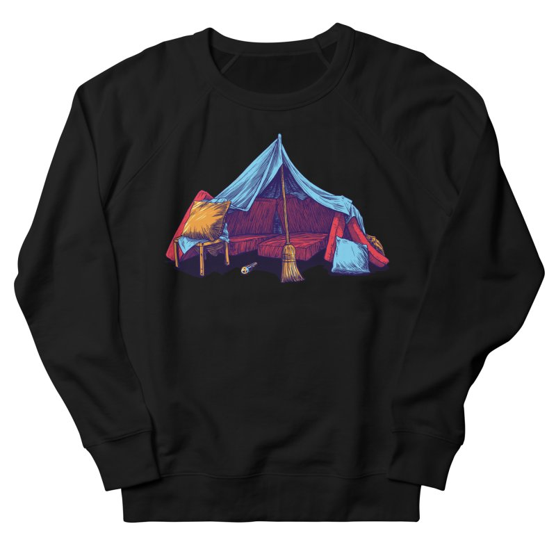 Blanket Fort Men's French Terry Sweatshirt by Barry Blankenship Shirts