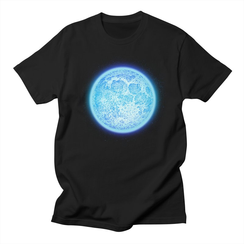 Moon Men's Regular T-Shirt by Barry Blankenship Shirts