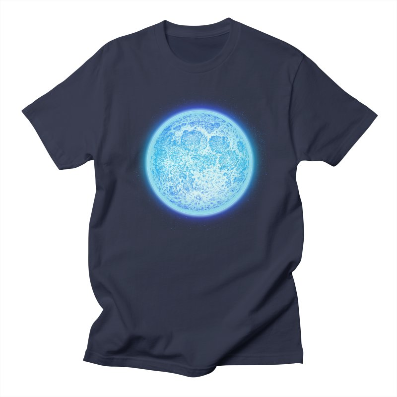 Moon Women's Regular Unisex T-Shirt by Barry Blankenship Shirts