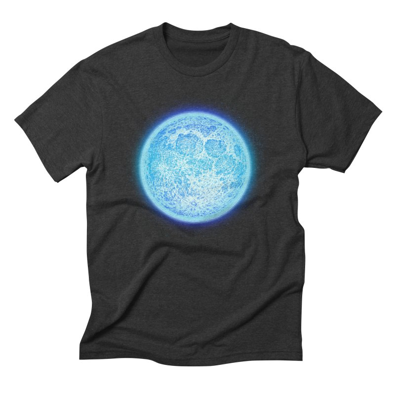 Moon Men's T-Shirt by Barry Blankenship Shirts