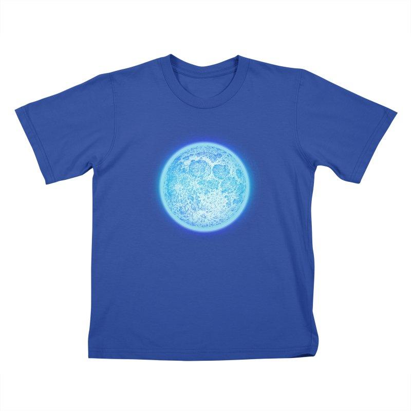 Moon Kids T-Shirt by Barry Blankenship Shirts