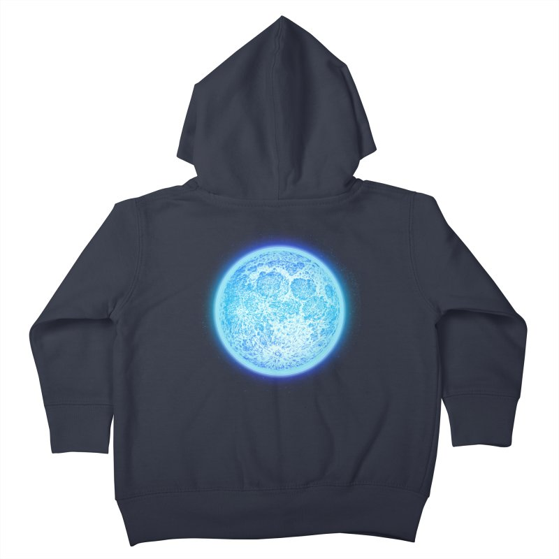 Moon Kids Toddler Zip-Up Hoody by Barry Blankenship Shirts