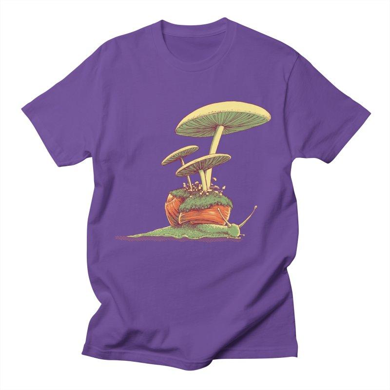Shrooms & Snails Women's Regular Unisex T-Shirt by Barry Blankenship Shirts