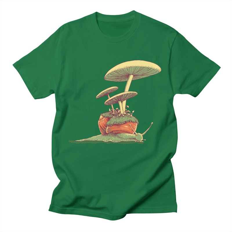 Shrooms & Snails Women's T-Shirt by Barry Blankenship Shirts