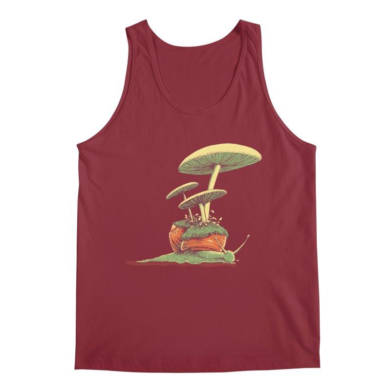 Shrooms & Snails Men's Regular Tank by Barry Blankenship Shirts