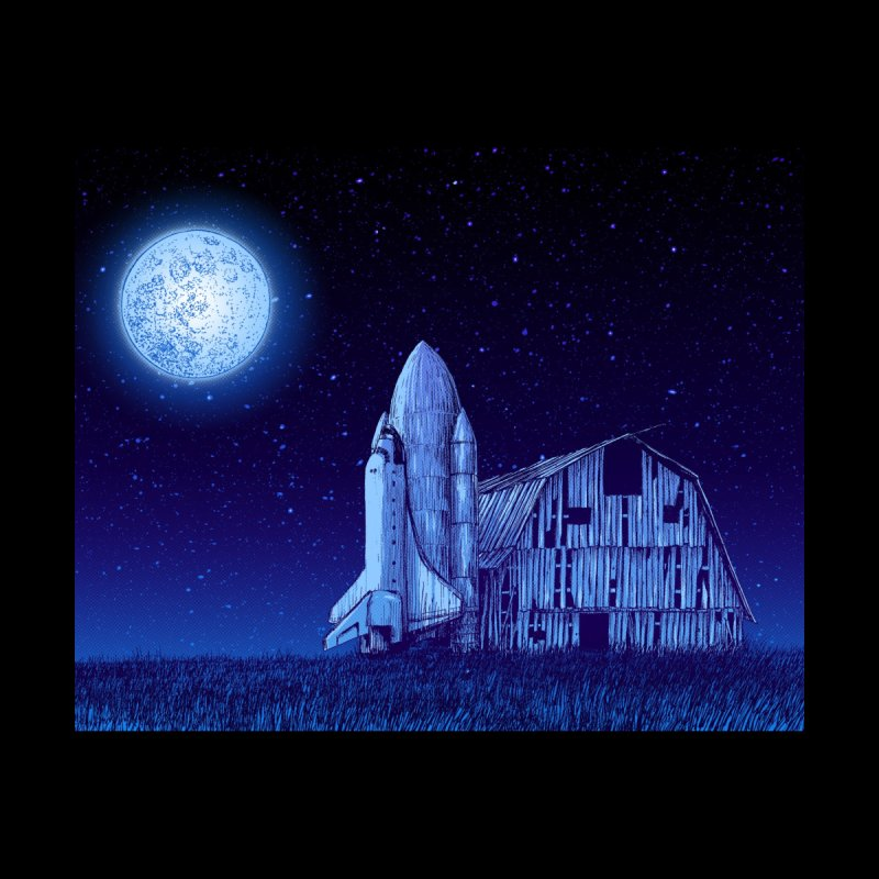Space Barn by Barry Blankenship Shirts