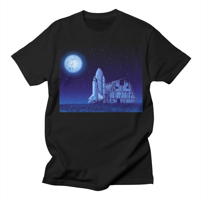 Space Barn Men's T-Shirt by Barry Blankenship Shirts