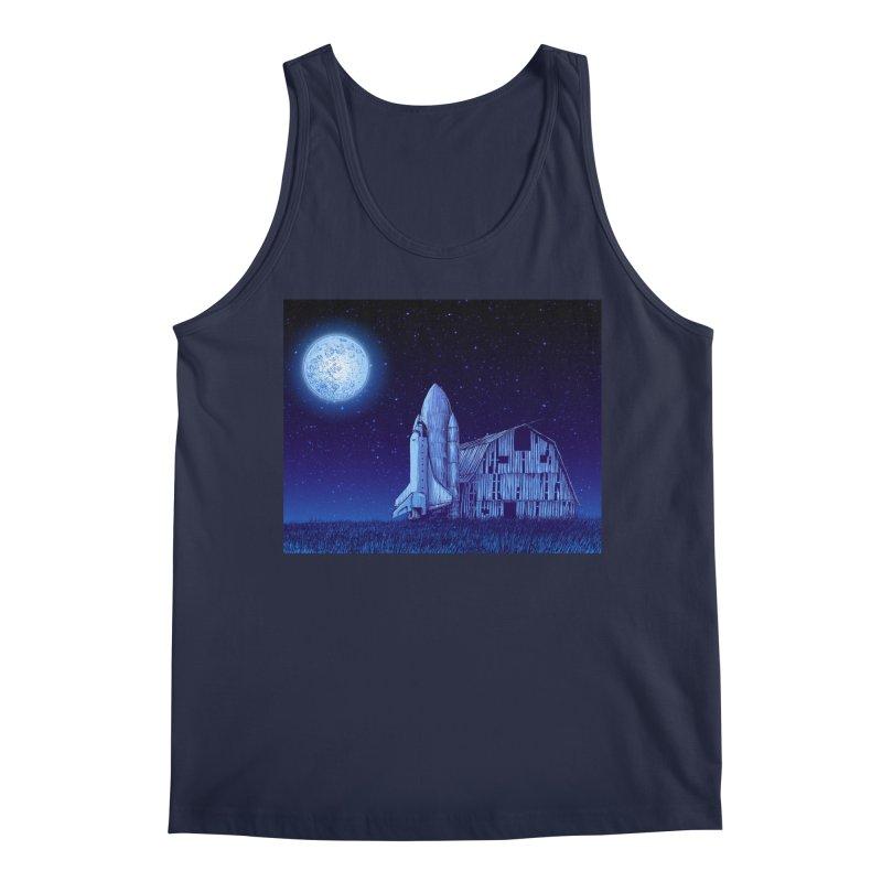 Space Barn Men's Regular Tank by Barry Blankenship Shirts