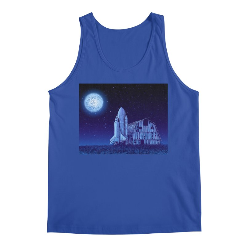 Space Barn Men's Tank by Barry Blankenship Shirts