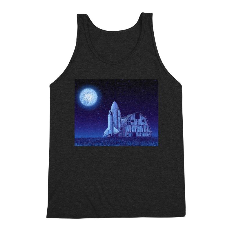 Space Barn Men's Triblend Tank by Barry Blankenship Shirts