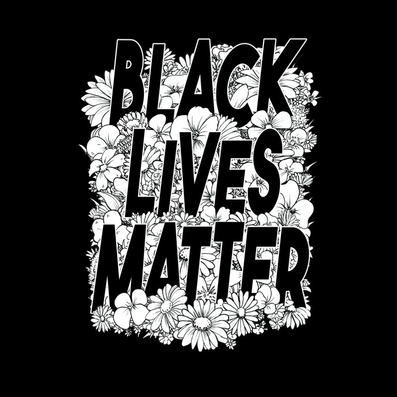Black Lives Matter Men's T-Shirt by Barry Blankenship Shirts