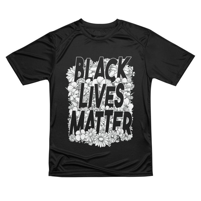 Black Lives Matter Men's T-Shirt by Barry Blankenship Shirts