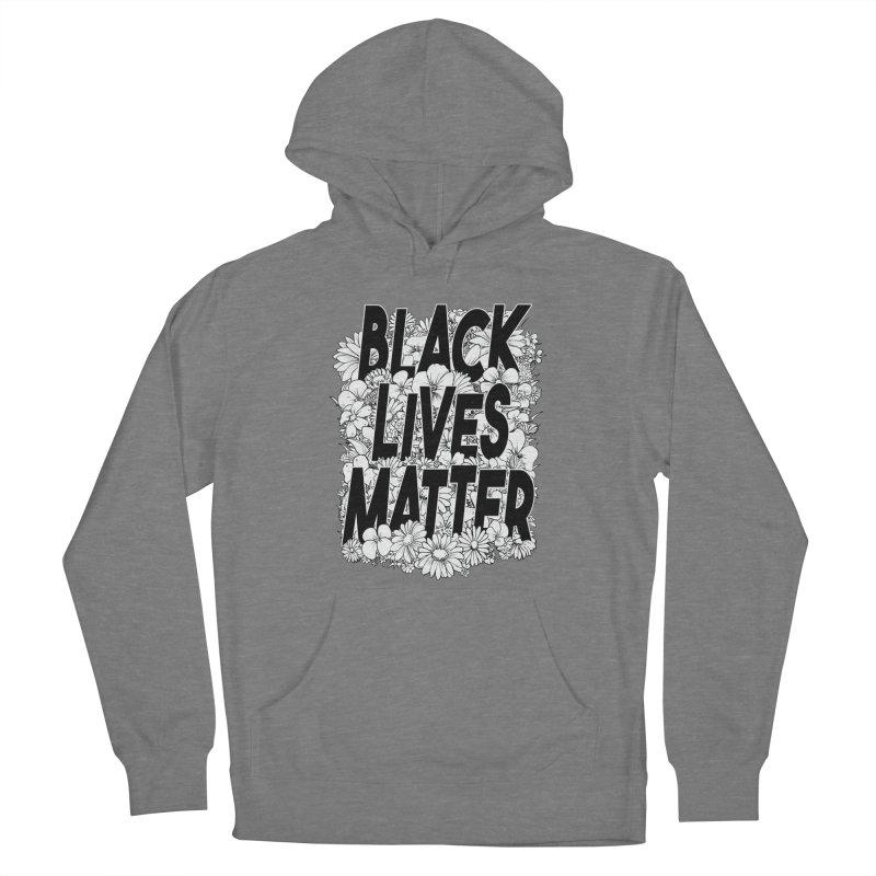Black Lives Matter Men's Pullover Hoody by Barry Blankenship Shirts