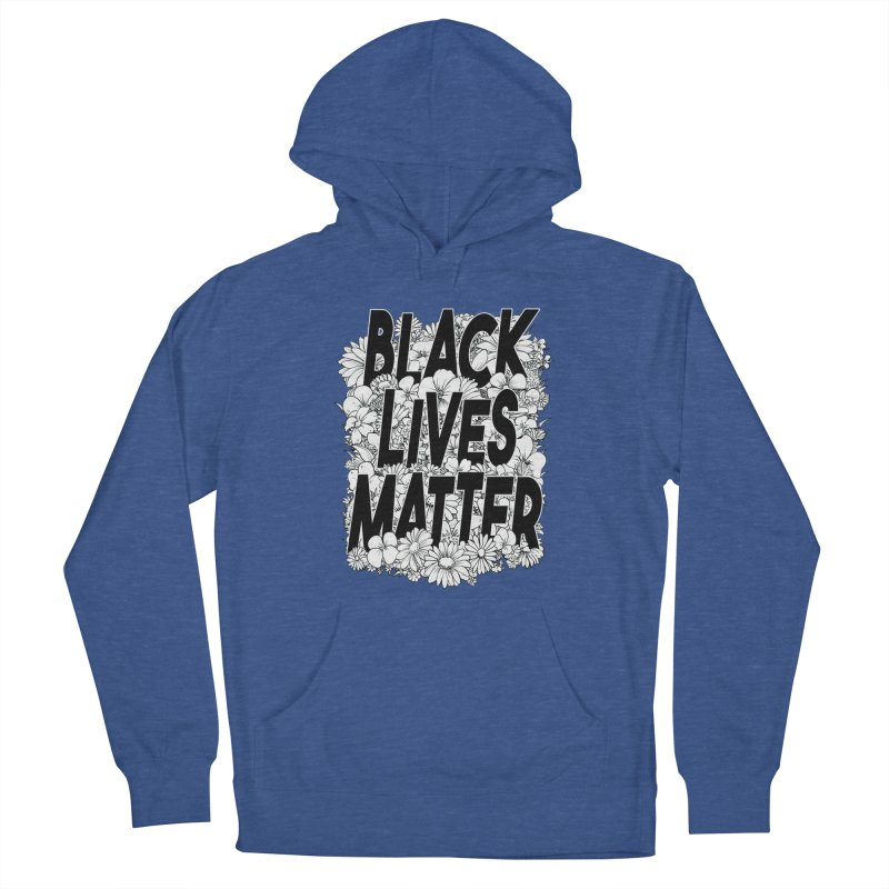 Black Lives Matter Men's Pullover Hoody by Barry Blankenship Shirts