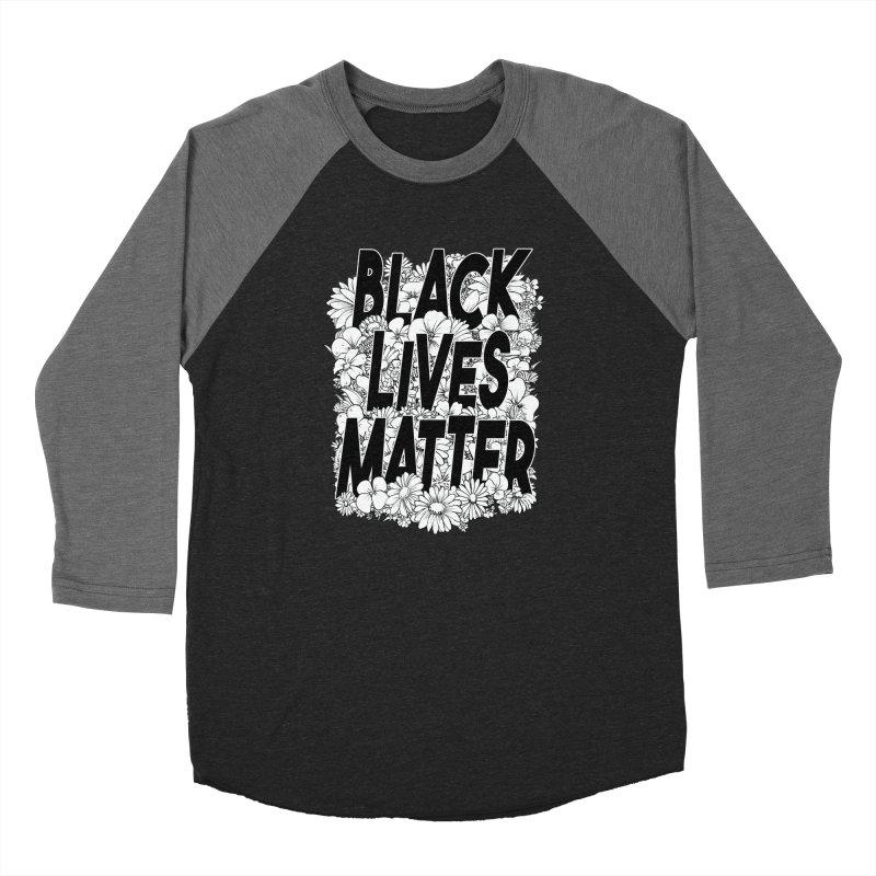 Black Lives Matter Women's Longsleeve T-Shirt by Barry Blankenship Shirts