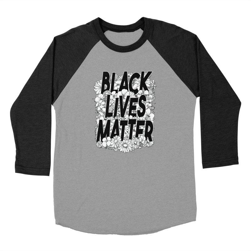 Black Lives Matter Men's Longsleeve T-Shirt by Barry Blankenship Shirts