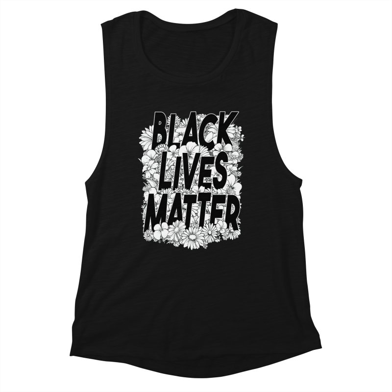Black Lives Matter Women's Tank by Barry Blankenship Shirts