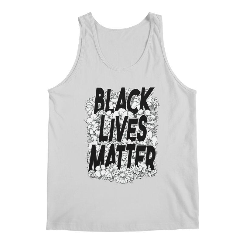 Black Lives Matter Men's Tank by Barry Blankenship Shirts