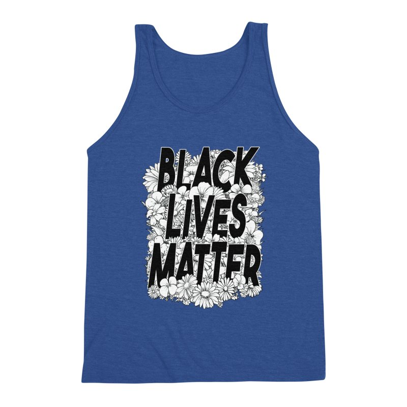 Black Lives Matter Men's Tank by Barry Blankenship Shirts