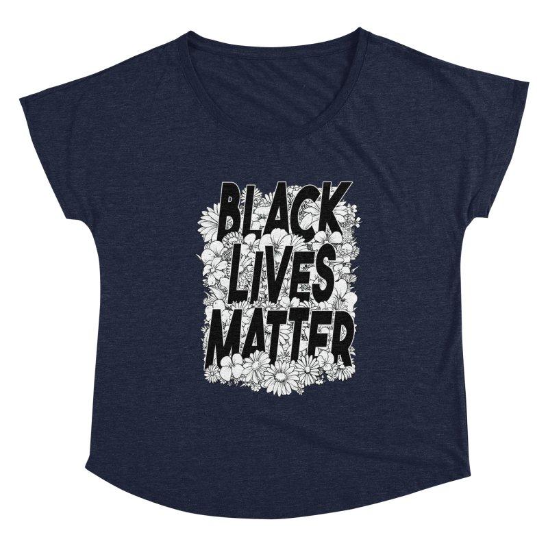 Black Lives Matter Women's Scoop Neck by Barry Blankenship Shirts