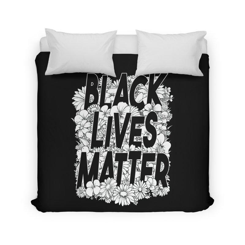 Black Lives Matter Home Duvet by Barry Blankenship Shirts