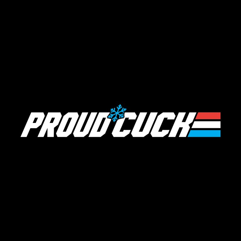 Proud Cuck Men's Pullover Hoody by Barry Blankenship Shirts