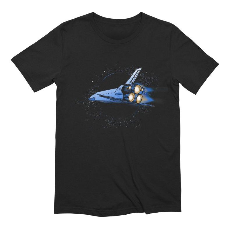 Space Shuttle Men's T-Shirt by Barry Blankenship Shirts