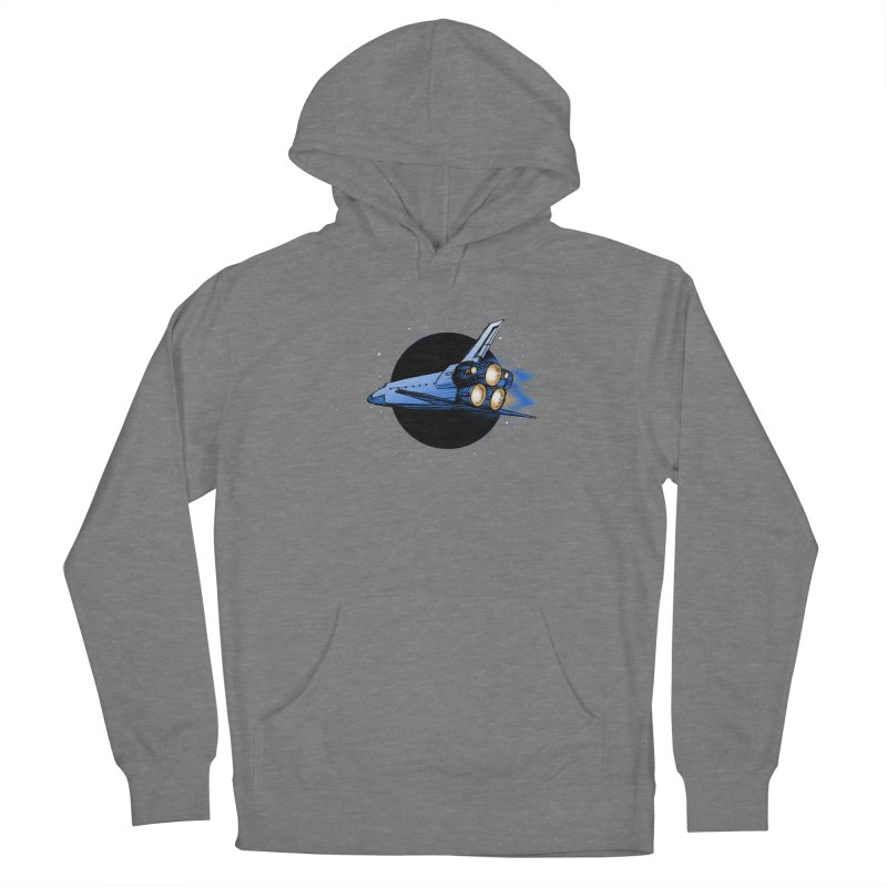Space Shuttle Women's Pullover Hoody by Barry Blankenship Shirts