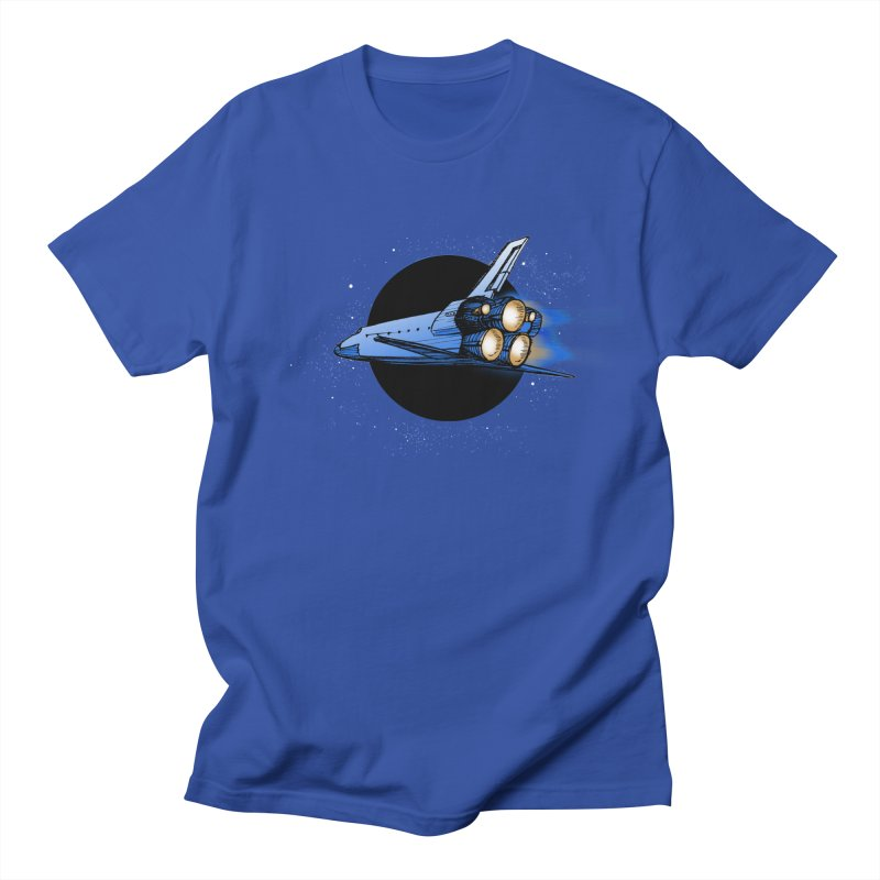 Space Shuttle Men's T-Shirt by Barry Blankenship Shirts