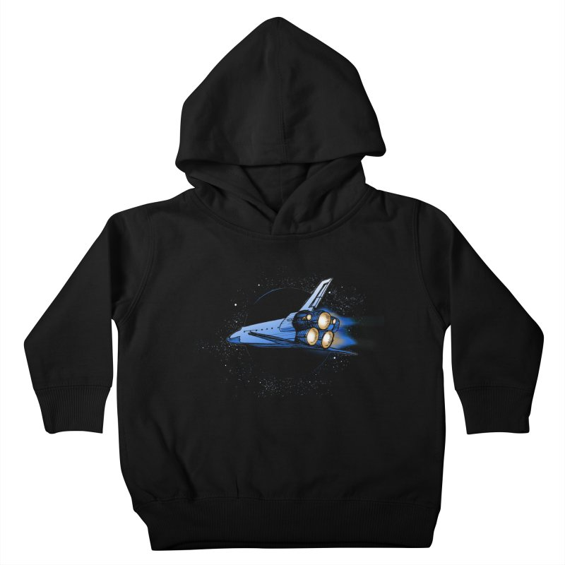 Space Shuttle Kids Toddler Pullover Hoody by Barry Blankenship Shirts