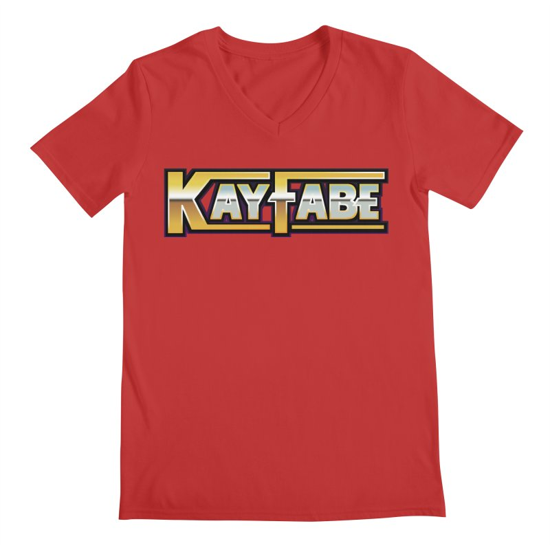 Kayfabe Men's Regular V-Neck by Barry Blankenship Shirts