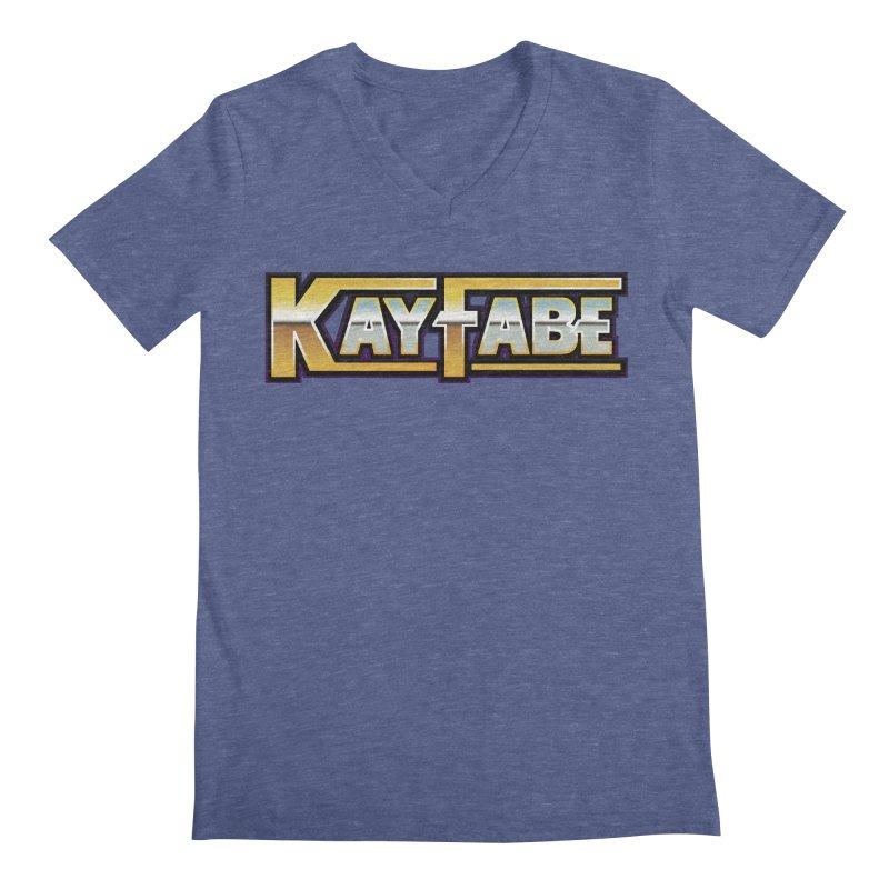 Kayfabe Men's Regular V-Neck by Barry Blankenship Shirts