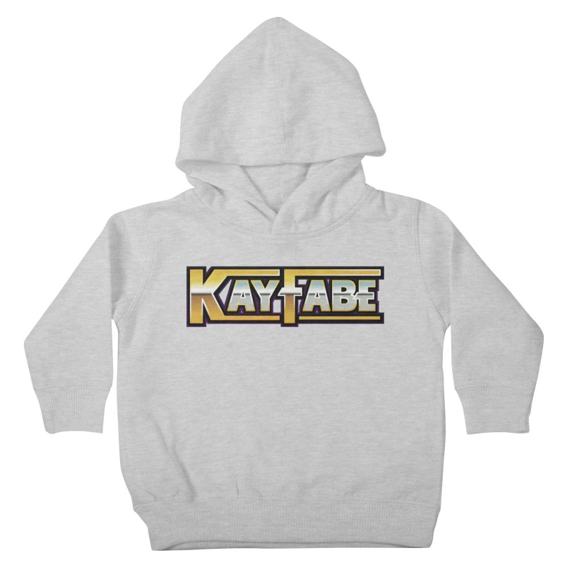 Kayfabe Kids Toddler Pullover Hoody by Barry Blankenship Shirts