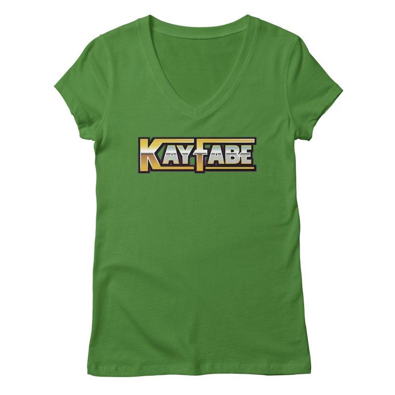 Kayfabe Women's V-Neck by Barry Blankenship Shirts