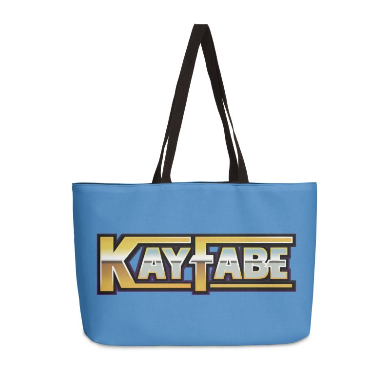 Kayfabe Accessories Weekender Bag Bag by Barry Blankenship Shirts