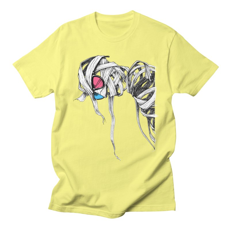 Invisible man Men's T-Shirt by Barry Blankenship Shirts