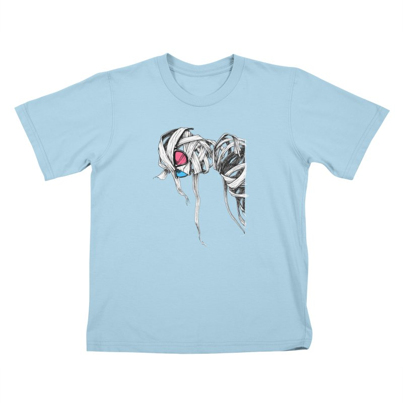 Invisible man Kids T-Shirt by Barry Blankenship Shirts