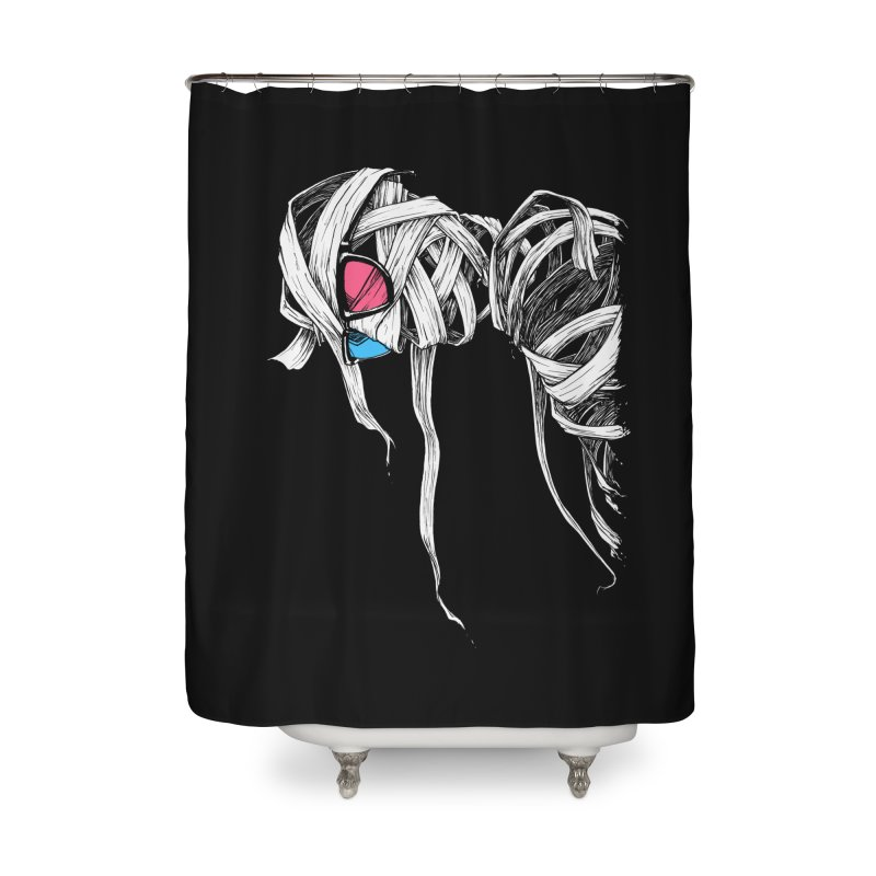 Invisible man Home Shower Curtain by Barry Blankenship Shirts