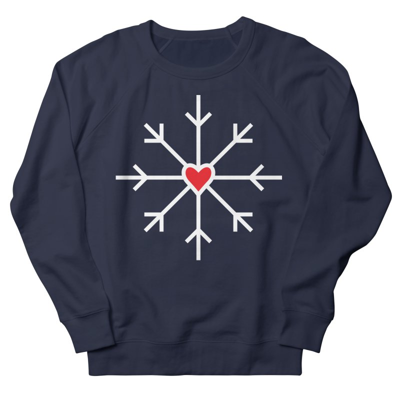 Snowflake Women's Sweatshirt by Barry Blankenship Shirts