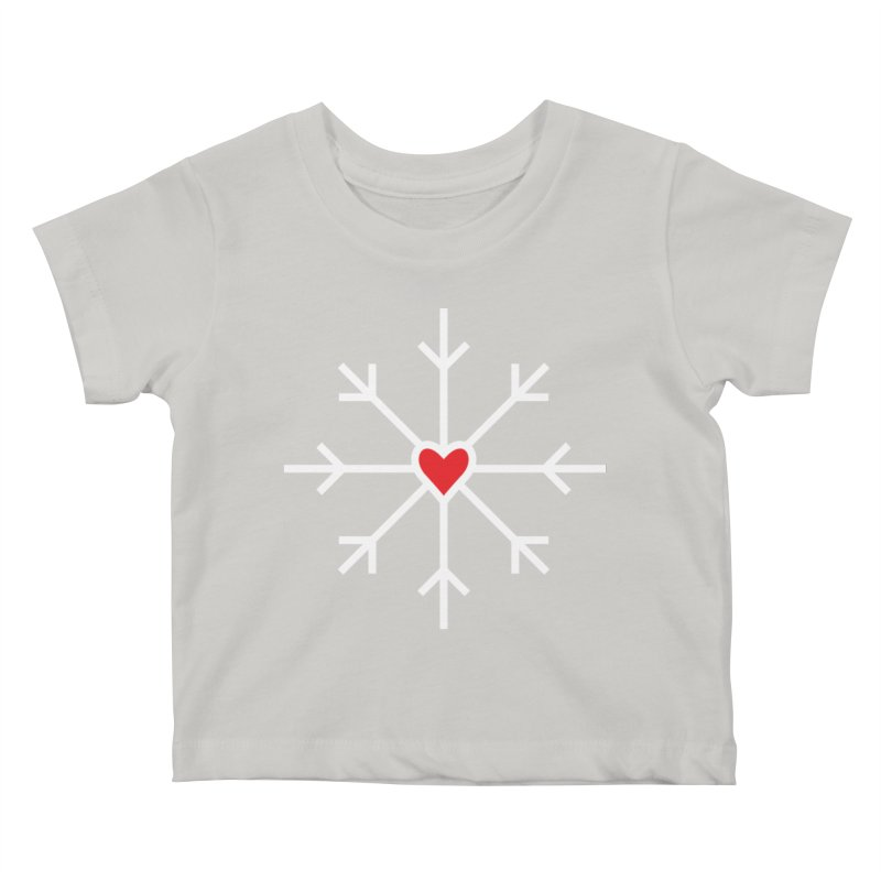 Snowflake Kids Baby T-Shirt by Barry Blankenship Shirts