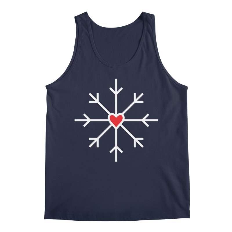 Snowflake Men's Tank by Barry Blankenship Shirts