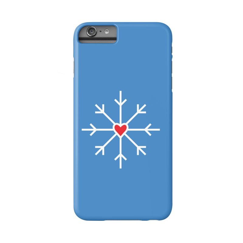 Snowflake Accessories Phone Case by Barry Blankenship Shirts