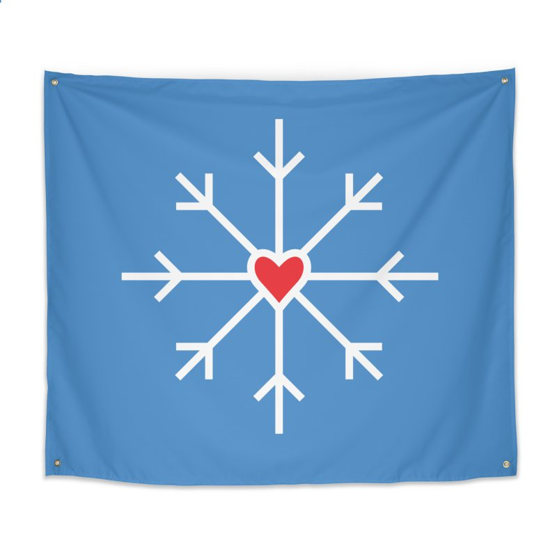 Snowflake Home Tapestry by Barry Blankenship Shirts