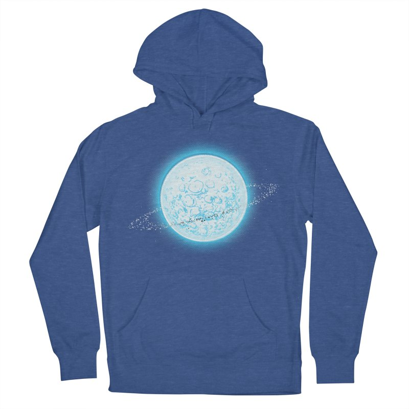 Lunar Orbit Men's Pullover Hoody by Barry Blankenship Shirts